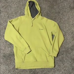 Columbia pull over sweater